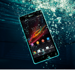 Sony Xperia ZR is IP55 / IP58 certified water-resistant phone.