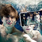 Sony Xperia ZR can record Full HD video underwater.