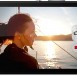 Sony Xperia ZR Full HD video recording.