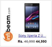 Buy Xperia Z Ultra from Infibeam at Rs 43990
