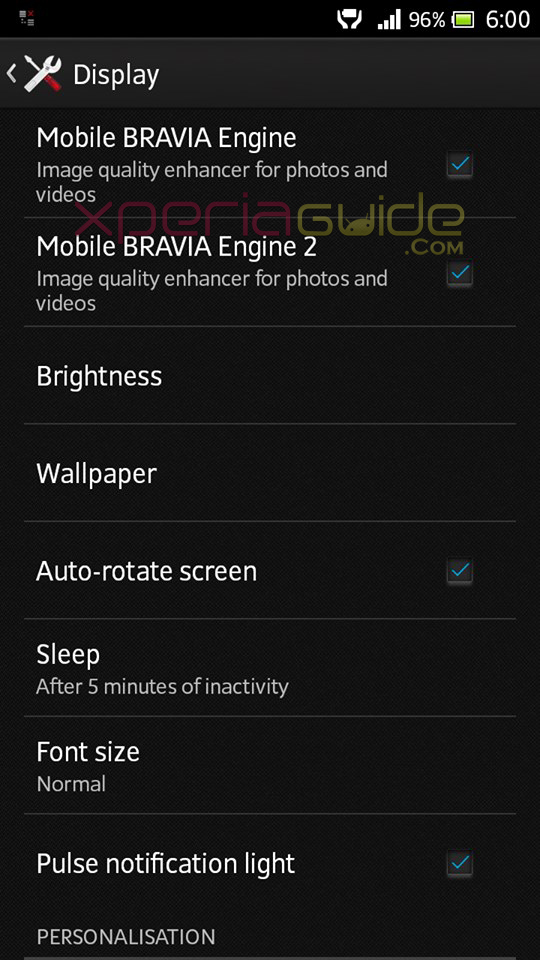 ERROR of 2 Bravia Engines installed at the same time on Xperia S
