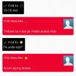 Messaging app of Xperia Honami on Xperia S SL
