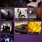 Music Unlimited settings inXperia Z Walkman 7.9.A.0.1app