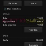 Old Xperia Z Movies 4.0.B.0.6 app