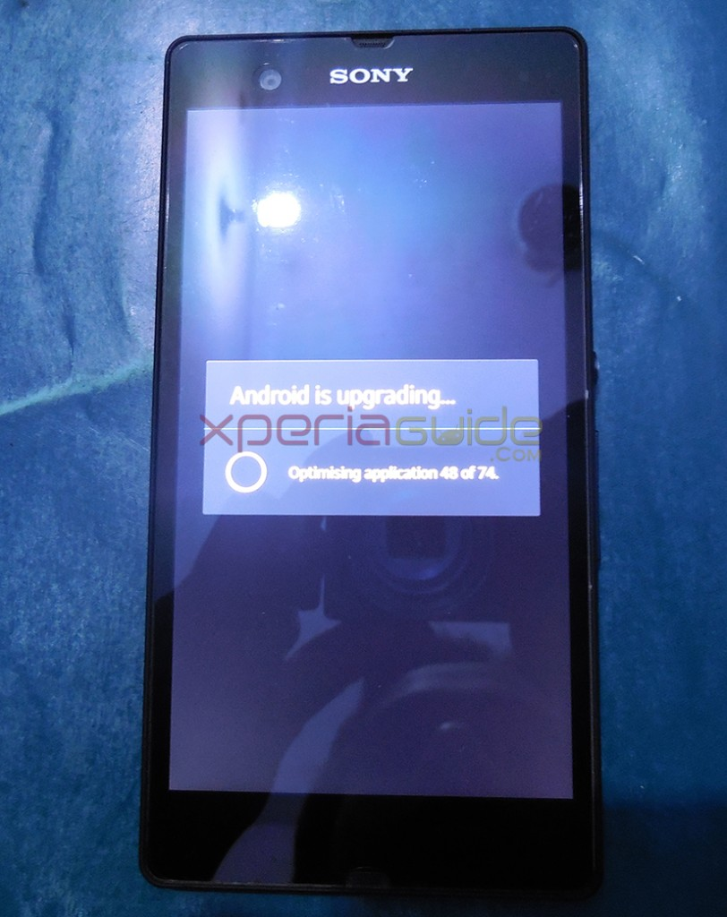 Sony must have patched the perf_event exploit in Xperia Z Android 4.2.2 10.3.1.A.0.244 firmware update