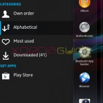 Xperia Honami Home Launcher version 6.0.A.0.12 and Widgets