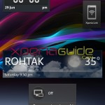 Xperia Honami i1,ZU Home Launcher Waether Widgets on Xperia S,SL,Z,ZL