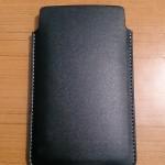 Xperia SP Slip Pouch Case by Roxfit - Back Side