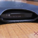 Xperia Z Slip Pouch Case - Bottom Hole