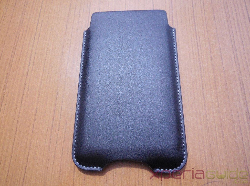Xperia Z Slip Pouch Case by Roxfit - Back Side