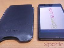 Xperia Z Slip Pouch Case by Roxfit - Dimesnions