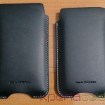 Xperia Z and Xperia SP Slip Pouch case