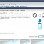 Xperia ZL C6503 Android 4.2.2 10.3.1.A.0.244 firmware update via PC Companion