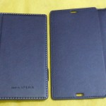 Back Side comparison of Xperia Z flip Case by Roxfit