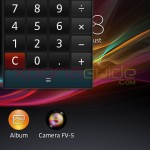 Calculator Small App in Xperia L C2105, C2104 Android 4.1.2 15.0.A.2.17 firmware update