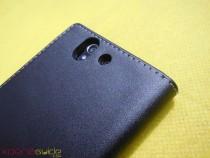 Camera Module of Xperia Z flip Case by Roxfit