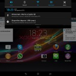 Home Screen Screenshot - Xperia Tablet Z SGP321 Android 4.2.2 10.3.1.A.0.244 firmware