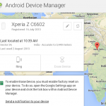 How to Track stolen or lost Xperia Z Xperia Phone via Android Device Manager