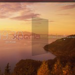Lockscreen of Xperia Tablet Z SGP311 Android 4.2.2 10.3.1.C.0.136 firmware