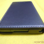 Lower Portion - Xperia Z flip Case by Roxfit
