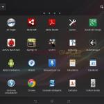MENU Option Screenshot - Xperia Tablet Z SGP321 Android 4.2.2 10.3.1.A.0.244 firmware