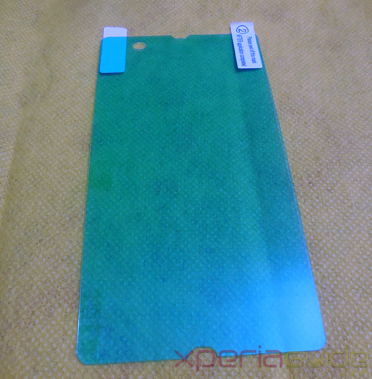 New Anti-Shock Screen Protector Scratch Guard For Sony Xperia Z