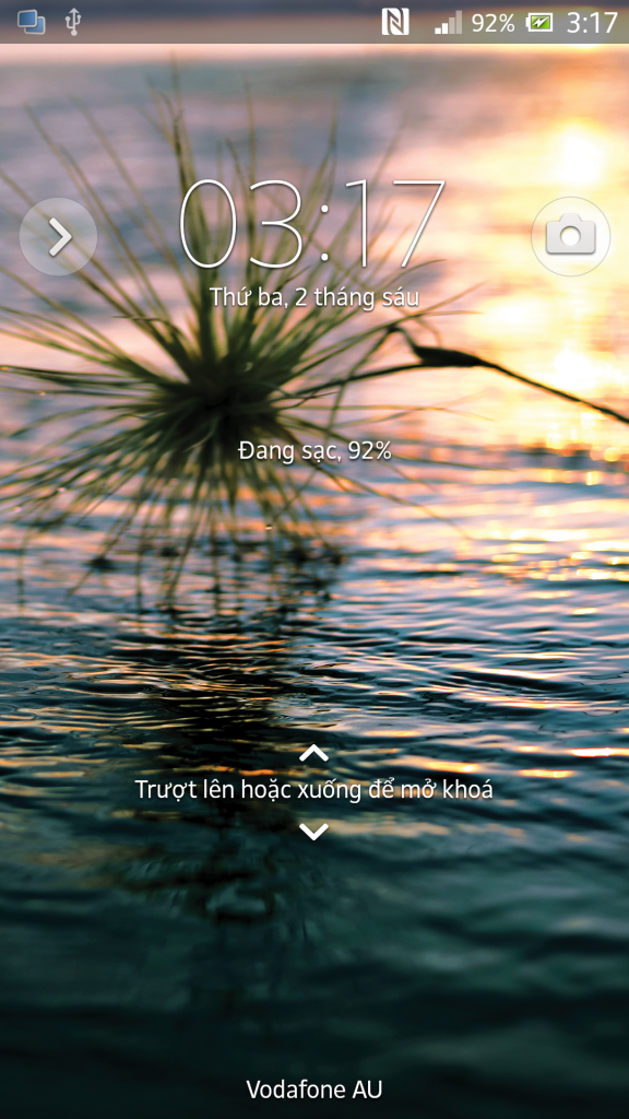 New Lockscreen wallpaper in Xperia Z C6603 10.3.1.A.1.10 firmware Update Rolled on ORANGE Carrier