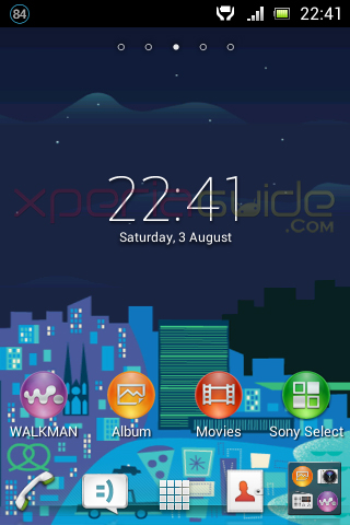New Media Apps in Xperia E C1505 Android 4.1.1 11.3.A.2.13 firmware