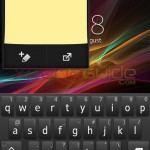 Notes Small App in Xperia L C2105, C2104 Android 4.1.2 15.0.A.2.17 firmware update