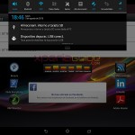 Notification Panel screenshot - Xperia Tablet Z SGP321 Android 4.2.2 10.3.1.A.0.244 firmware