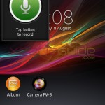 Recorder Small App in Xperia L C2105, C2104 Android 4.1.2 15.0.A.2.17 firmware update