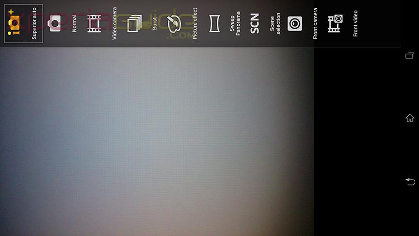 Superior Auto Mode settings in Xperia Z Ultra C6802 14.1.B.1.510 firmware update