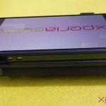 USB Charging port in Xperia Z flip Case by Roxfit