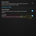 Walkman sound settings option in Xperia Z Ultra C6802 14.1.B.1.510 firmware update