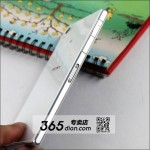 White Xperia Z1 Dummy Pic showing sd card slot