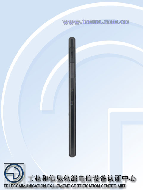 Xperia Honami ( Z1 ) L39h Model Network License Passed -  Official Picture Exposed - Micro SD slot profile