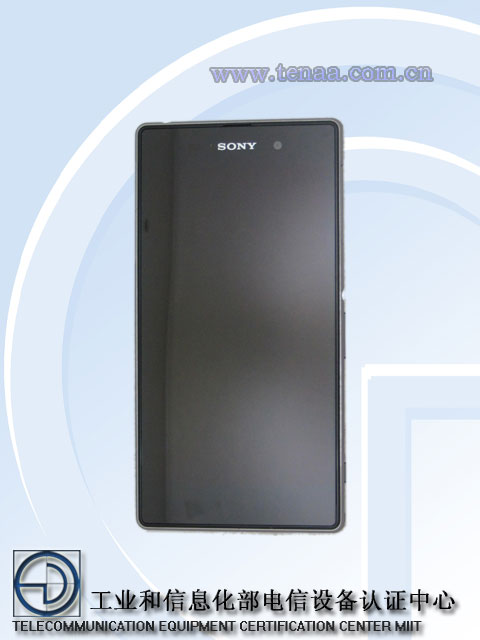 Xperia Honami ( Z1 ) L39h Model Network License Passed -  Official Picture Exposed