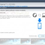Xperia L C2105, C2104 Android 4.1.2 15.0.A.2.17 firmware update by PC Companion