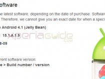 Xperia M C1904 C1905 Android 4.1.2 15.1.A.1.9 firmware update Rolled
