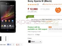 Xperia M Price in India Rs 12990 - Listed, buy at Saholic, Infibeam