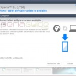 Xperia SL LT26ii 6.2.B.1.96 firmware update via PC Companion