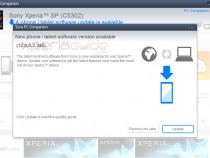 Xperia SP C5302 Android 4.1.2 12.0.A.2.245 firmware update via PC Companion