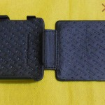 Xperia SP Leather Case by Noreve - Black Stitched