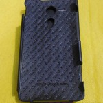 Xperia SP Leather Case by Noreve - Logo inside