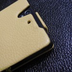 Xperia Z Leather Case by Noreve - Camera Opening