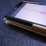 Xperia Z Leather Case by Noreve - USB Port opening