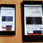 Xperia Z Ultra's Triluminos Display Vs Xperia Z Display Comparison
