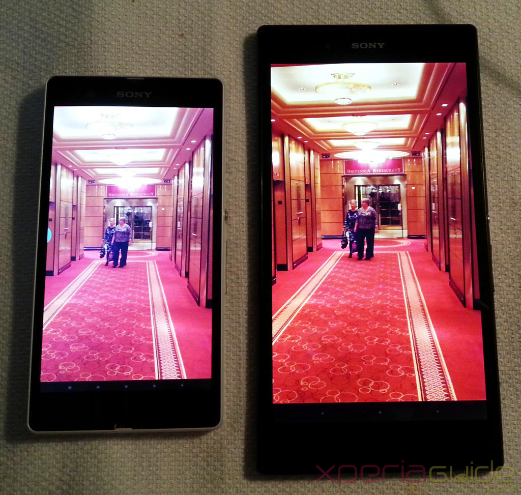 Xperia Z Ultra Vs Xperia Z - True Photo colors comparison