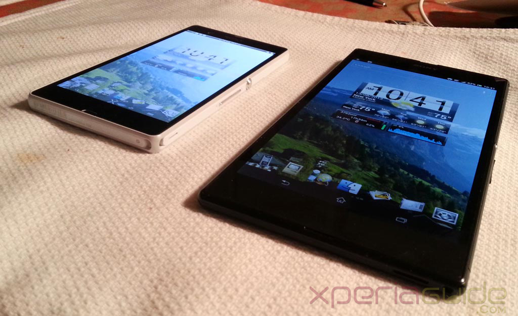 Xperia Z Ultra Vs Xperia Z Display