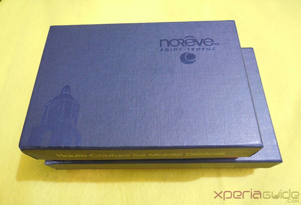 Xperia Z and Xperia SP Leather Case by Noreve Cover